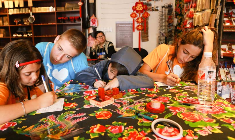 Chinese activity: Art workshop