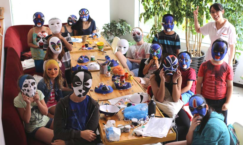 Chinese Activity: Mask Painting Workshop