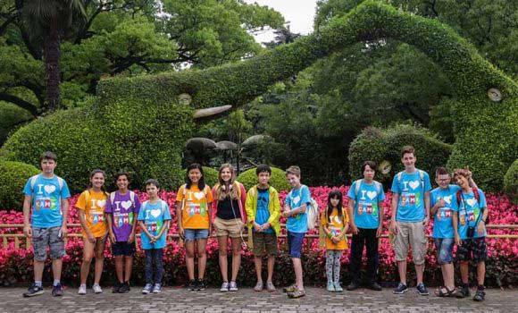 International Experience at Chinese Summer Camp